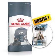ROYAL CANIN Oral Care sucha karma ograniczająca tworzenie się kamienia nazębnego 8 kg + PREZENT