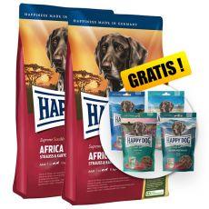 Happy Dog Supreme Africa 2 x 12,5 kg + PREZENT