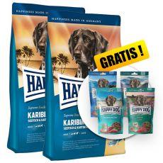 Happy Dog Supreme Karibik 2 x 12,5kg + PREZENT