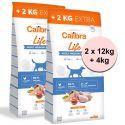 Calibra Dog Life Adult Medium Breed Chicken 2 x 12 kg + 4 kg GRATIS