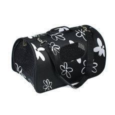 Torba transportowa dla psów i kotów - czarna, 51 x 26 x 29 cm