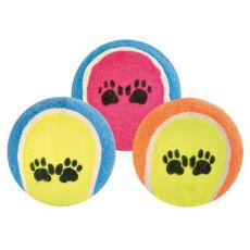 Piłka tenisowa dla psa, 6 cm