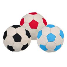 Piłka nożna dla psa, 11 cm