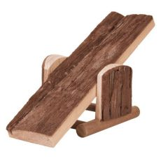 Huśtawka dla gryzoni - z drewna, 22 x 7 x 8 cm