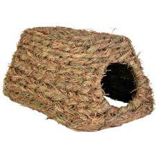 Domek dla gryzoni z trawy - 28 x 18 x 13 cm