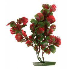 Roślina do akwarium, 25 cm czerwono-zielone liście