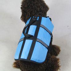 Kamizelka ratunkowa dla psa - niebieska, XXS