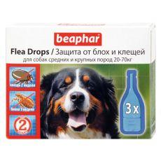 Pipeta przeciwko pchłom i kleszczom, dla psów, 20-70kg