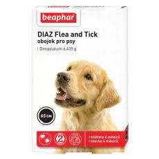 Obroża DIAZ dla psa przeciwko pchłom i kleszczom - 65 cm