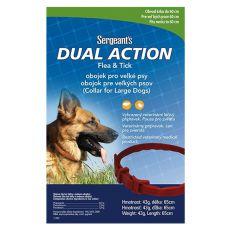 Obroża przeciw pasożytom Sergeant´s dla psów dużych ras - 65 cm