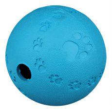 Piłka na przekąski dla psów - naturalna guma, 7 cm