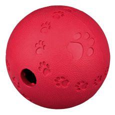 Zabawka na przysmaki dla psa - piłka z gumy naturalnej, 11 cm