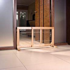 Barierka dla psa, przesuwana 63-108x50x31cm