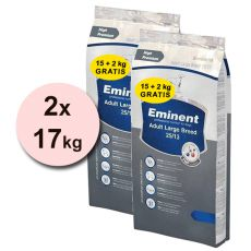 EMINENT Adult Large Breed - 2 x 17kg