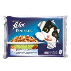 Saszetka Felix – ryba z warzywami w galarecie, 400 g