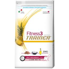 Trainer Fitness3 Adult MEDIUM MAXI – jagnięcina z ryżem 12,5 kg