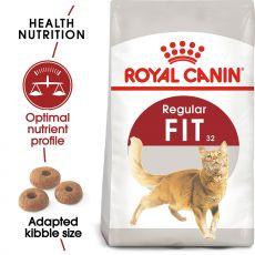 Royal Canin FIT 32 - karma dla dorosłych kotów 400 g