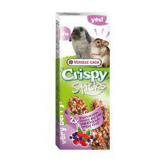 Kolby dla gryzoni CRISPY STICKS 2 szt - o smaku owoców leśnych