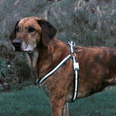 Refleksyjne szelki dla psa - migające, rozmiar M-L