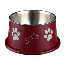 Miska dla psa z długimi uszami, brązowa - 0,9l