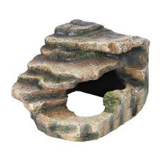 Dekoracja do rogu terrarium - 19x17x19cm