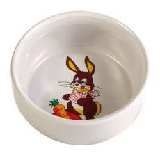 Ceramiczna miseczka dla królików - 300 ml, 11 cm