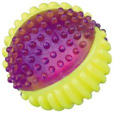 Świecąca piłka dla psa - 7cm