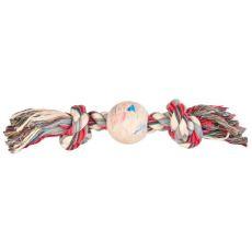 Piłka dla psa na bawełnianym sznurku - 36cm