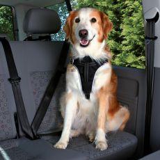 Pas bezpieczeństwa do samochodu dla psów - M