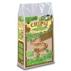 CHIPSI SNAKE - naturalna podściółka do terrarium 5kg