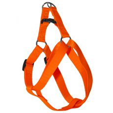 Uprząż dla psa w neonowo pomarańczowym kolorze, 1,6 x 30-45cm