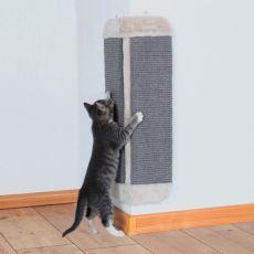 Rogowy drapak dla kotów - sizal i plusz 32x60cm