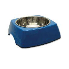 Miska dla psa DOG FANTASY, kwadrat - 0,70L, niebieska