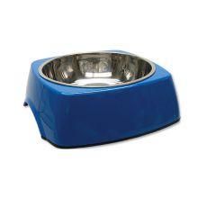 Miska dla psa DOG FANTASY, kwadrat - 1,40l, niebieska