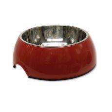 Miska dla psa DOG FANTASY - 0,70l, czerwona