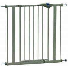 Barierka metalowa dla psa, popielata - 75-84x75 cm