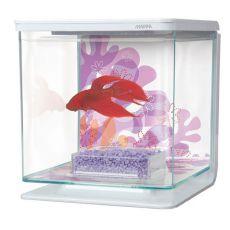 Akwarium MARINA Flower 2l, plastikowe