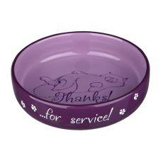 Ceramiczna miska dla kota z obrazkiem - 0,3l