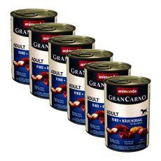Konserwa GranCarno Fleisch Adult wędzony węgorz+ziemniaki- 6x400g