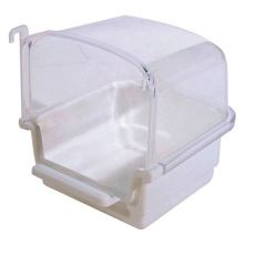 Basenik dla ptaków RIO 1 - biały, 12 x 14 x 13 cm