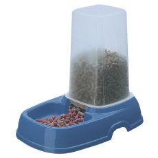 Dozownik wody i karmy KUFRA 2 - niebieski - 1,5L