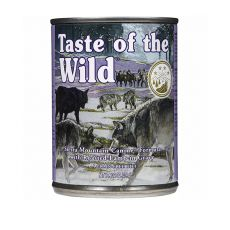 TASTE OF THE WILD Sierra Mountain Canine - konserwa, 390g