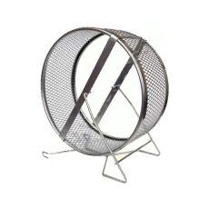 Kołowrotek dla gryzoni - metalowy, 25 cm