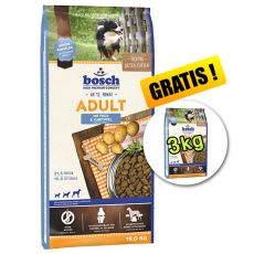 Bosch ADULT Fish & Potato 15 kg + 3kg GRATIS