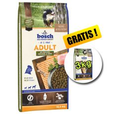 Bosch ADULT Poultry and Millet 15kg + 3kg GRATIS