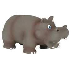 Zabawka dla psa, latex - hipopotam, 17 cm