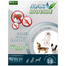 MAX BIOCIDE obroża przeciwko pasożytom dla psów małych ras - 38 cm
