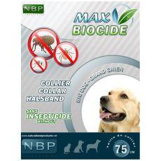 MAX BIOCIDE obroża przeciwko pasożytom dla psów dużych ras - 75 cm