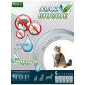 MAX BIOCIDE krople przeciwko pasożytom dla kotów, 5 szt.