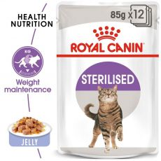 Royal Canin STERILISED in Jelly 12 x 85 g - w galarecie